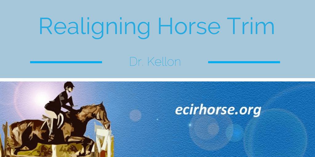 realigning-horse-hoof-trim-laminitis